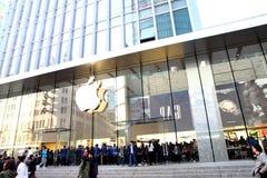 Apple Store w Szanghaj zdjęcie stock