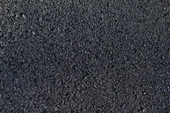 Nowy asfalt kłaść obraz stock