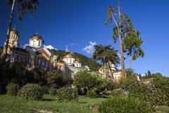 Nowy Athos monaster obrazy royalty free