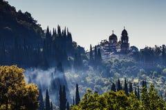 Nowy Athos monaster obraz royalty free