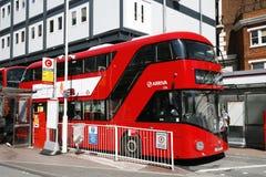nowy autobusowy London Zdjęcia Stock