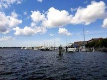 Nowy Bern marina zdjęcie royalty free