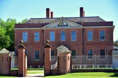 Nowy Bern, NC: 1770 Tryon pałac Zdjęcie Stock