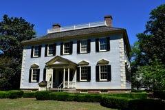 Nowy Bern, NC: 1780 John Wright Stanly dom Obraz Royalty Free