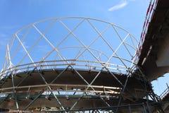 Nowy bielu most obrazy royalty free