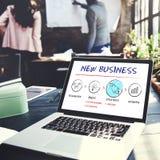 Nowy biznes Zaczyna wodowanie sukcesu Wzrostowego pojęcie obraz stock