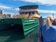 Nowy Bliźniaczy Wyłuszczony Sydney schronienia prom, Sydney, Australia zdjęcia stock