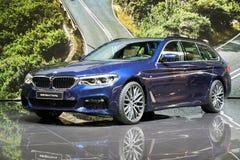 Nowy 2017 BMW 5 serii Objeżdżać Obraz Stock