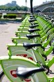 Nowy Budapest roweru dzierżawienie Obrazy Stock