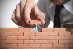 Nowy budowa biznes Fotografia Stock