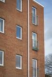 Nowy budowa budynek mieszkalny Zdjęcia Stock