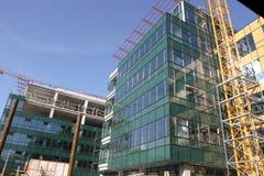 Nowy budynek Zdjęcia Royalty Free