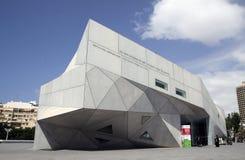 Nowy budynek muzeum sztuki Tel Aviv Obrazy Stock