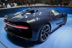 Nowy Bugatti Chiron sportscar Zdjęcia Stock
