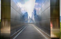 Nowy - bydło, usa - Wrzesień 17, 2018: Pusty niebo Pamiątkowy Nowy Yor fotografia stock