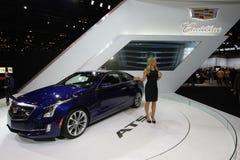Nowy Cadillac ATS Coupe 2014 zdjęcia stock