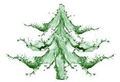 nowy chełbotania drzewa wody rok Zdjęcia Royalty Free