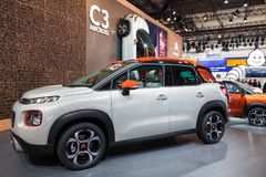 Nowy Citroen C3 Aircross SUV Obrazy Stock
