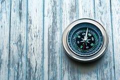 Nowy czarny kompas zdjęcia stock