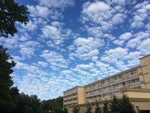 Nowy - dżersejowi nieba Obraz Stock