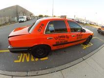 Nowy - dżersejowy taxi Obraz Royalty Free