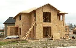 nowy dom Obrazy Stock