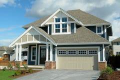 Nowy dom Dla sprzedaży Zdjęcia Royalty Free