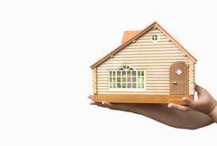 nowy dom domowa skrytka zakupu dom Zdjęcia Royalty Free