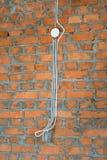 Nowy dom elektryczna praca Obraz Royalty Free