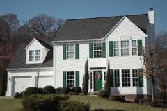 nowy dom kolonizatora Zdjęcie Stock