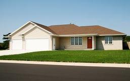nowy dom na ranczo Zdjęcie Royalty Free