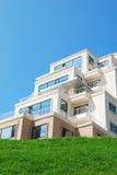 Nowy dom na wzgórzu Obraz Royalty Free