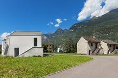 Nowy dom, outdoors zdjęcia stock