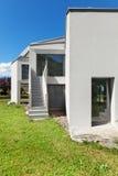 Nowy dom, outdoors zdjęcia royalty free
