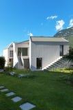 Nowy dom, outdoors zdjęcie stock
