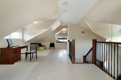 nowy domowy budowy loft Fotografia Royalty Free