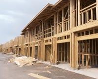 Nowy domowy w budowie zdjęcie royalty free
