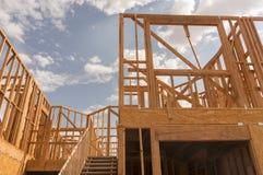 Nowy domowy w budowie obrazy stock