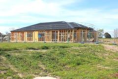 Nowy domowy w budowie Fotografia Stock
