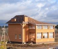 Nowy domowy w budowie Zdjęcia Royalty Free