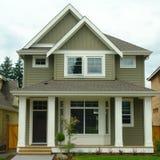 nowy domu zewnętrzny dom obrazy stock