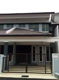 nowy domu zewnętrzny dom zdjęcia stock