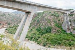 Nowy droga most nad Gouritz rzeką Zdjęcie Royalty Free