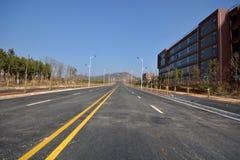 Nowy drogi i infrastruktury use Obrazy Stock