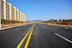 Nowy drogi i infrastruktury use Fotografia Royalty Free