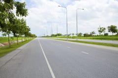 Nowy drogi i infrastruktury use dla służba rządowa transportu Zdjęcie Stock