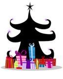 nowy drzewny rok ilustracja wektor