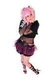 nowy dziewczyna ruch punków Fotografia Stock