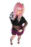 nowy dziewczyna ruch punków Obraz Royalty Free