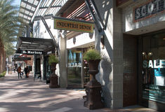 Nowy Ekskluzywny Detaliczny centrum handlowe Fotografia Royalty Free